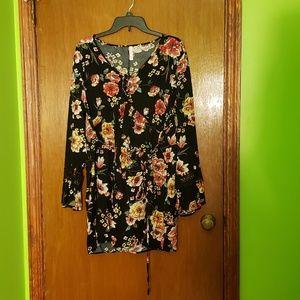 🎉 Flower Mini Dress
